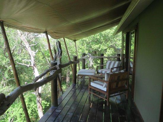 Kapama Buffalo Camp : Private Veranda