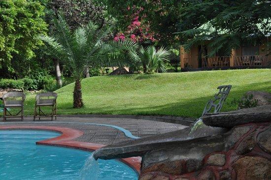 Safari Beach Lodge : Poollandschaft