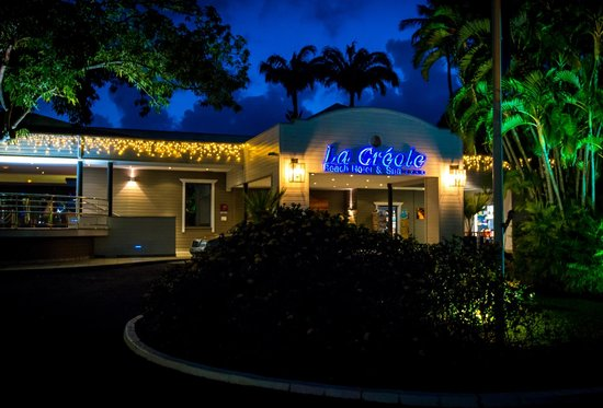 La Creole Beach Hotel: Main entrance