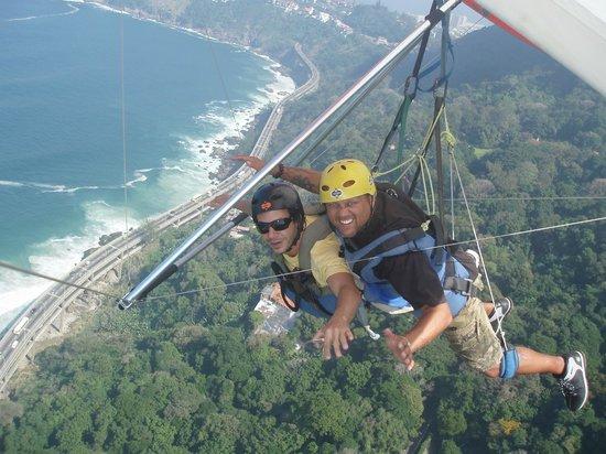Tijuca National Park: Hand gliding over Rio de Janeiro