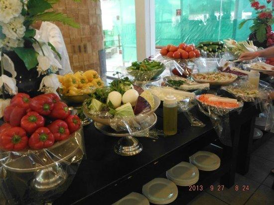 Leonardo Club Hotel Eilat : Fruit buffet