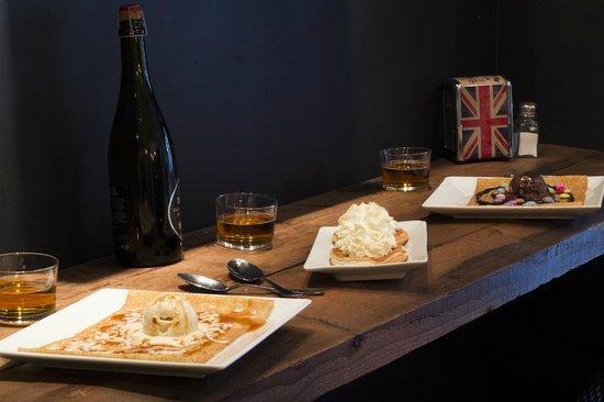 Crepe Avenue: Farandole de desserts
