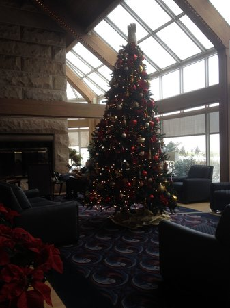 Maumee Bay Lodge and Conference Center: Christmas decor