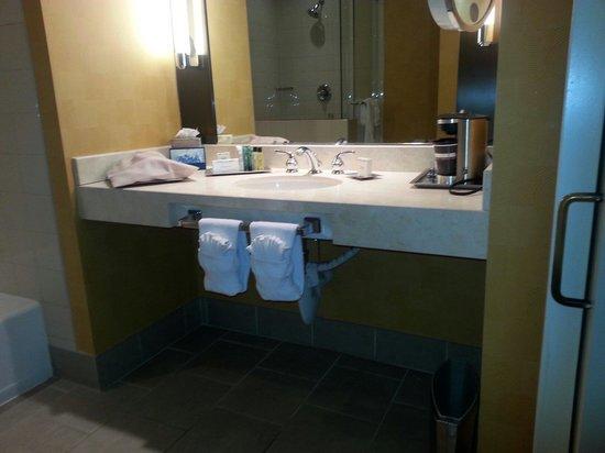 Hilton San Diego Gaslamp Quarter : Bath room