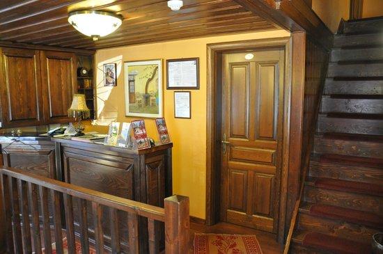 Guesthouse Sotiriou: reception