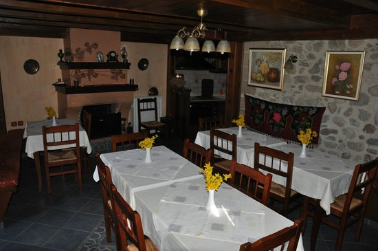 Guesthouse Sotiriou: breakfast room
