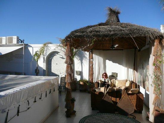 Riad Aguaviva : Roof terrace