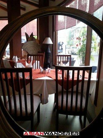 Salana Boutique Hotel: Restaurant