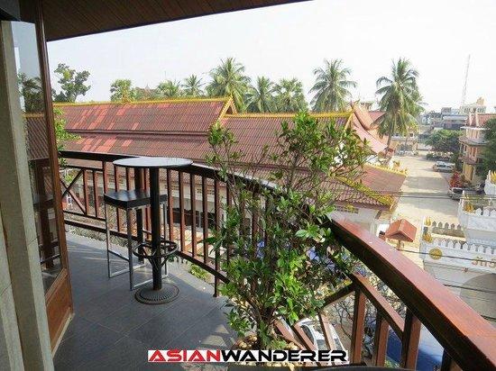 Salana Boutique Hotel: Lounge balcony