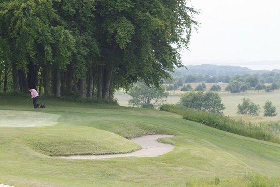 Hotel Schloss Ranzow: Übungsgreen des Golfplatzes