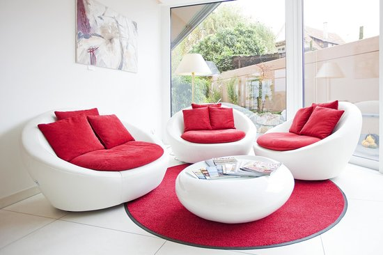 Hotel Krone: Lounge/Lobby
