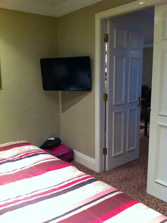 Redworth Hall Hotel: Bedroom of Room 319