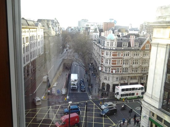 Grange Holborn Hotel: This was our view