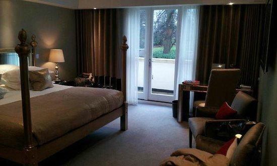 Rudding Park Hotel : Four Poster Bedroom
