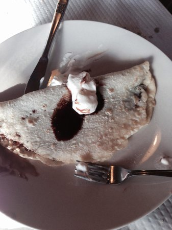 Sidreria El Prau: Frisuelo con chocolate
