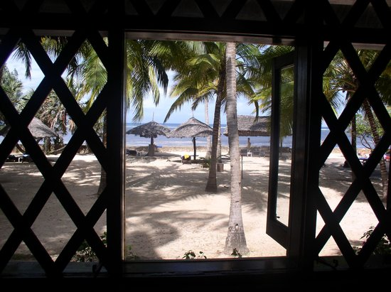 Driftwood Beach Club: view from our bedroom