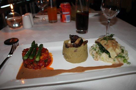 Pigalle Restaurant: Vegetable Platter