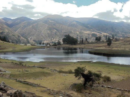 Vilcashuaman, Peru: Intihuatana - general view