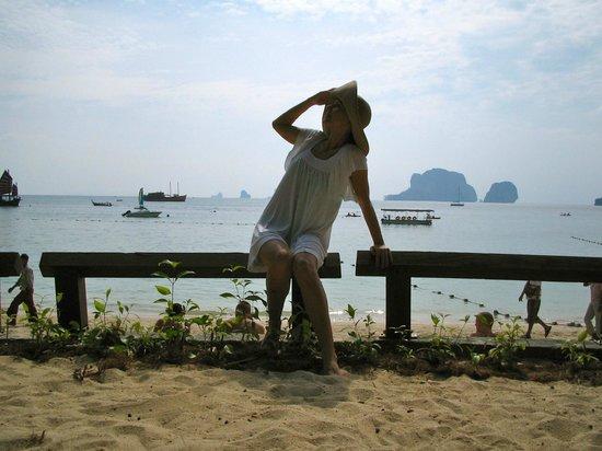 Rayavadee Resort: view from the beach area