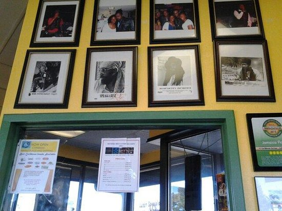Jamaican Flavor: Entrance
