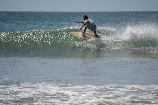 Playa Avellana: local surfer
