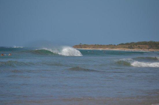 Playa Avellana: waves