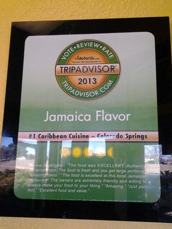 Jamaica Flavor: Yes yes
