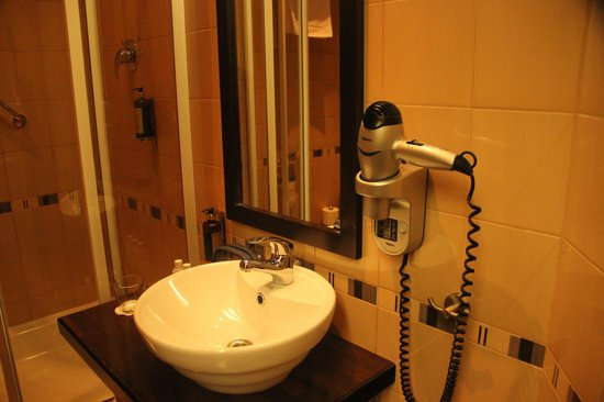 Hanza Hotel: bathroom