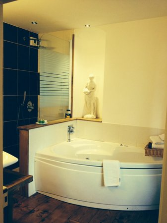 Chateau de Grunstein : Bathroom of the Berthe Suite