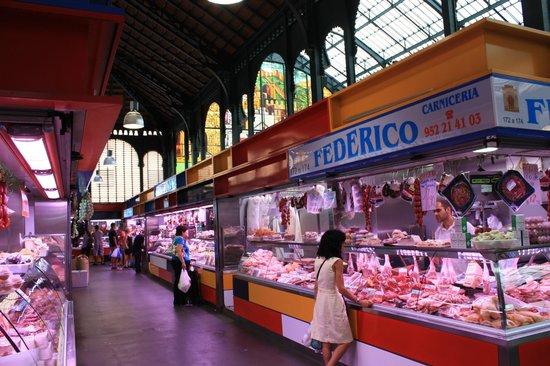 Foto de Mercado Central de Atarazanas, Málaga: market aisle - TripAdvisor