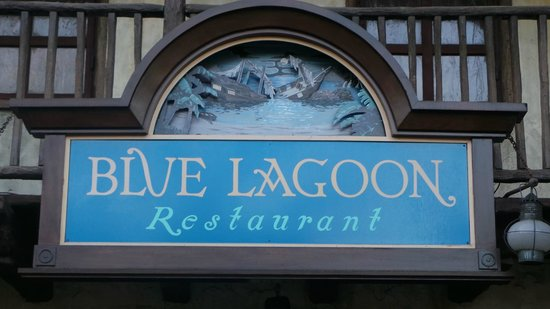 Blue Lagoon Restaurant - Disneyland Paris : Blue Lagoon