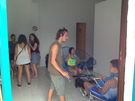VIVA hostel: Huéspedes