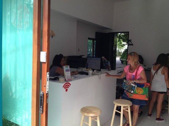 VIVA hostel: Recepción