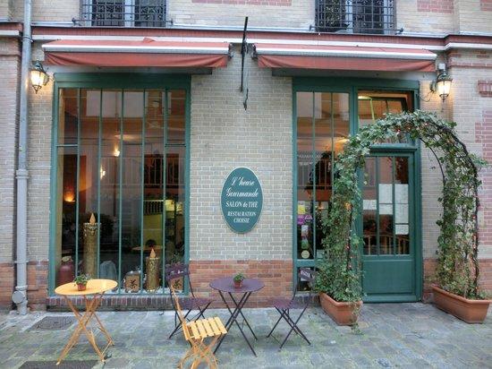 L'Heure Gourmande: ひっそりと佇む・・・