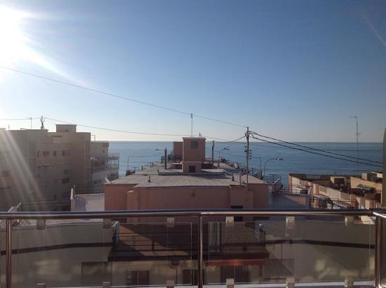 Hotel Avenida: view from 4th floor balcony