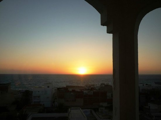 Monastir Center Hotel: View from room