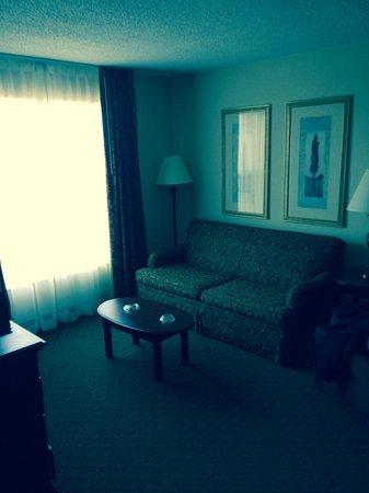 Homewood Suites Memphis - Hacks Cross : Suite Area, Adjoining Bedroom