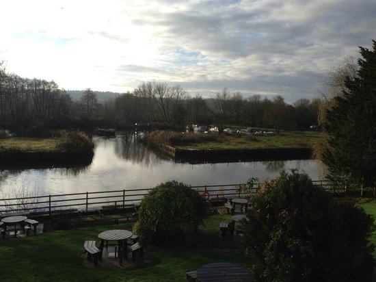 Innkeeper's Lodge Norwich: View from Restarurant