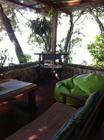 San Damiano: Terrace lounge