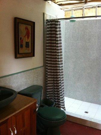 San Damiano: Shared bath for room 2-3