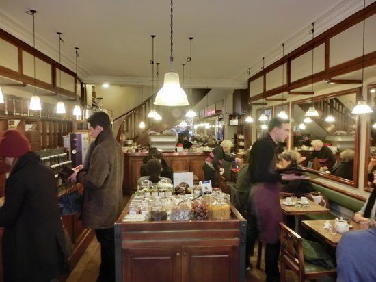 Cafe Verlet Paris France