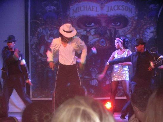 Iberostar Punta Cana: Show Michael Jakson