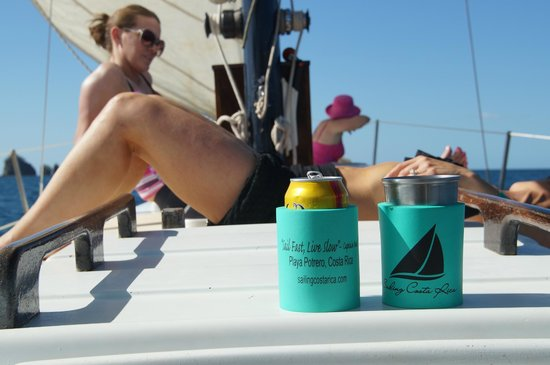 Serendipity Charters-Sailing Costa Rica: Coozies
