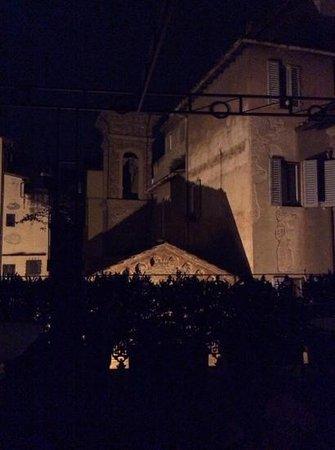 Hotel Berchielli: vista dal terrazzino al quarto piano