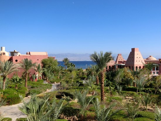 Miramar Resort Taba Heights: Meerblick