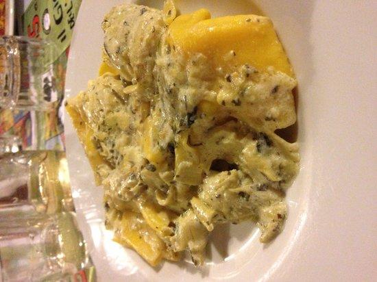 Osteria al 15: Tortelloni ai carciofi