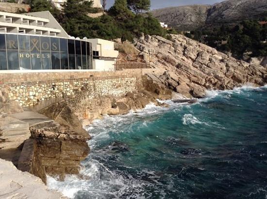 Rixos Hotel Libertas: vista del lado del mar