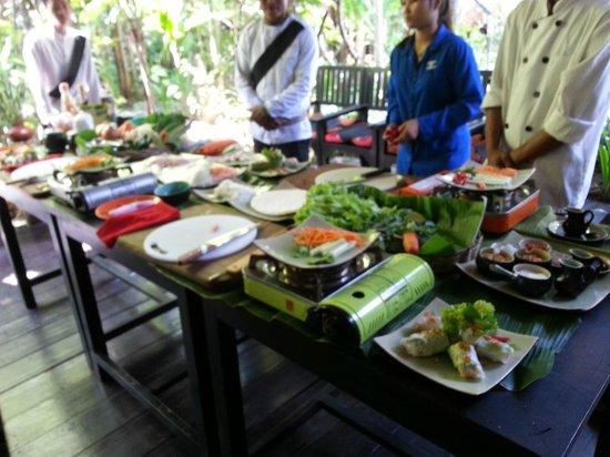 Petit Villa Boutique & Spa: Private Cooking Class
