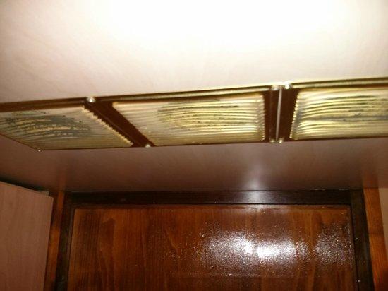 Fortuna Boat Hotel & Restaurant: respiraderos, aqui no se aprecia pero habian insectos y suciedad