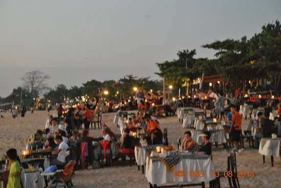 Sari Segara Resort Villas & Spa: Playa del Hotel